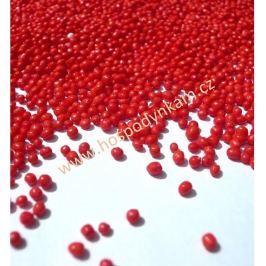 Cukrové zdobení - červený máček 40g
