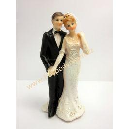Figurka na dort - nevěsta a ženich 11cm II