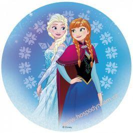 Jedlý papír deKora, Frozen (Anna a Elsa)
