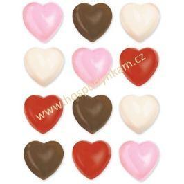 Wilton Forma na čokoládu - srdíčka