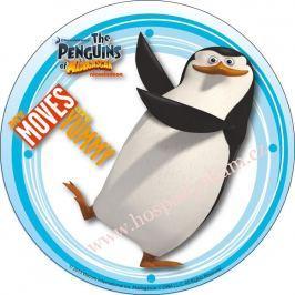 Modecor Jedlý papír Tučňáci z Madagascaru 2