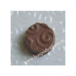 Strukturální fólie na čokoládu Spirály