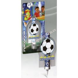 Dortová svíčka fontána - fotbal