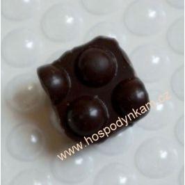 Strukturální fólie na čokoládu Bubliny
