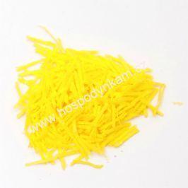 Jedlý papír - hoblinky žluté