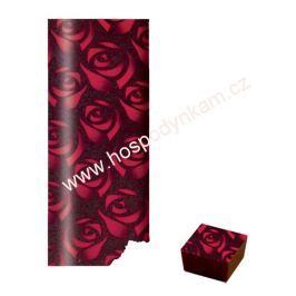 Transfer fólie na čokoládu - růže