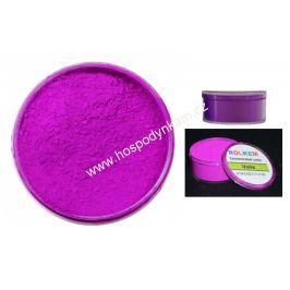 Prachová barva neonová fialová