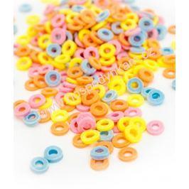 Cukrové zdobení - barevná kolečka 25g