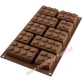 Silikomart Silikonová forma na čokoládu - lego kostky