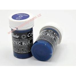 Gelová barva Sugarflair Aztec Blue 25g