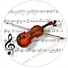 Jedlý papír housle