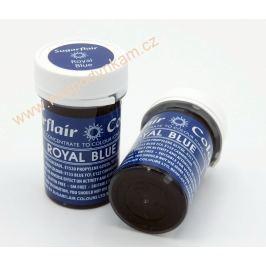 Gelová barva Sugarflair Royal Blue 25g