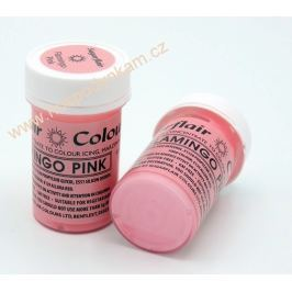 Gelová barva Sugarflair Flamingo Pink 25g