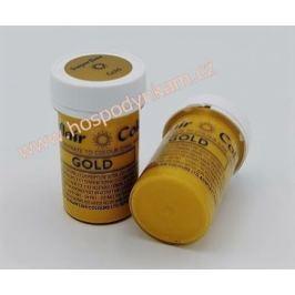 Gelová barva Sugarflair Gold 25g