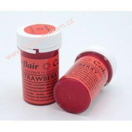 Gelová barva Sugarflair Strawberry 25g