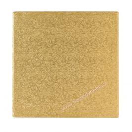 Culpitt Zlatý tác čtverec 30x30cm