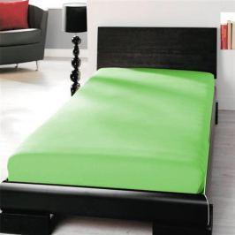TP Jersey prostěradlo Premium 190g/m2 90x200 Zelená