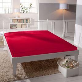 TP Jersey prostěradlo Premium 190g/m2 180x200 Červená