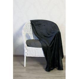 TP Mikroflanelová deka 150x200 Černá
