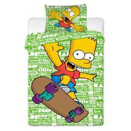 Jerry Fabrics Simpsonovi povlečení 140x200 70x90 Bart