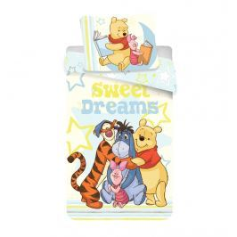 Jerry Fabrics Disney povlečení 140x200 70x90 Medvídek Pú