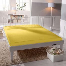 TP Jersey prostěradlo Premium 190g/m2 220x200 Žlutá