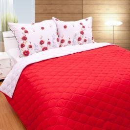TOP Prošívaný dekorační přehoz 160x230 červená