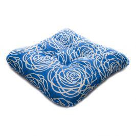 TP Sedák na židli 40x40 Molitanový Harmony modrý