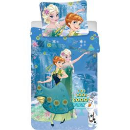 Dětské bavlněné povlečení 140x200 70x90 Frozen Cake