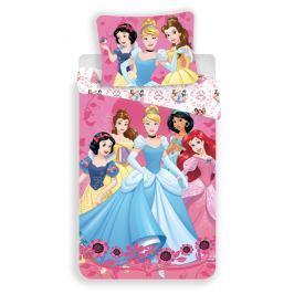 Dětské bavlněné povlečení 140x200 70x90 Princezny