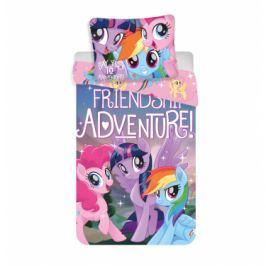 Dětské bavlněné povlečení My Little Pony Kouzelní poníci 140x200+70x90