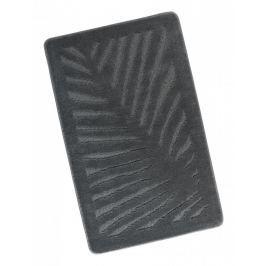Koupelnová předložka 60x100cm šedý list