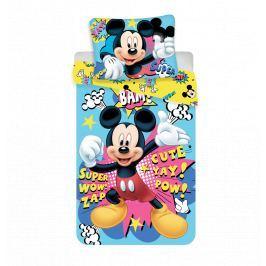 Dětské povlečení z mikrovlákna 140x200 70x90 Mickey BAM