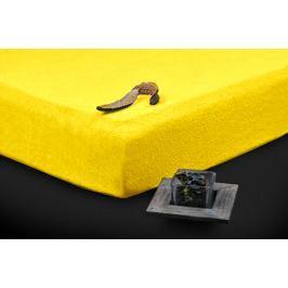 TP Froté prostěradlo Premium 190g/m2 160x200 Žlutá