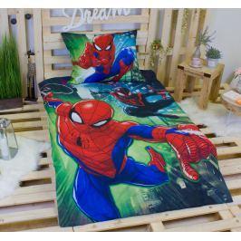 TOP Bavlněné povlečení 140x200+70x90 Spiderman on air