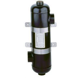 Tepelný výměník OVB 250 73kW do cca 80 m3 vody v bazénu.