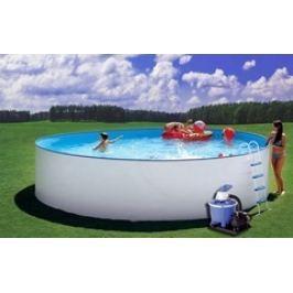 Bazén Steinbach Nuovo 4,0 x 0,9m s kovovou konstrukcí, vč. písk. filtrace 5,5 m3/h