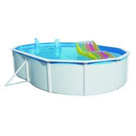 Bazén Steinbach Nuovo de Luxe oval 6,4x3,66x1,2 m s kovovou konstrukcí vč. pískové filtrace Speed Clean 75