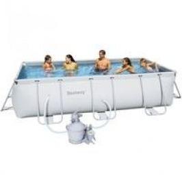 Bazén Bestway s konstrukcí 4,04 x 2,01 x 1,00m písková filtrace 3,7m3/hod