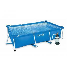 INTEX Metal Frame 2,60 x 1,60 x 0,65m  písková filtrace 2m3/hod