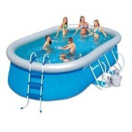Bazén Bestway ovál 4,88 x 3,05 x 1,07m set písková filtrace 3,7m3/hod