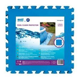 Pěnová podložka GRE pod bazén 50 x 50 cm - modrá