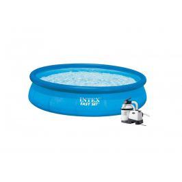 Bazén INTEX 3,96 x 0,84m písková filtrace 3,7m3/hod