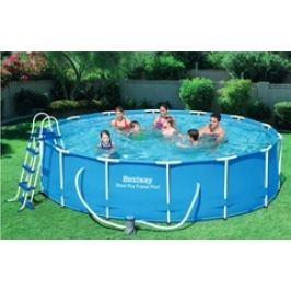 Bazén Bestway s konstrukcí 4,57 x 1,07 m písková filtrace 3,7m3/hod