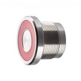 Piezoelektrické tlačítko - červené LED