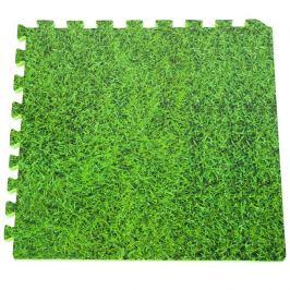 Pěnová podložka GRE pod bazén 50 x 50 cm - tráva