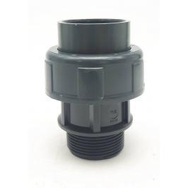 Šroubení PVC - 50mm x 1 1/2