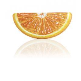 INTEX 58763 Nafukovací lehátko plátek pomeranče 1,78 x 0,85m