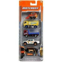Mattel Matchbox - Angličák 5ks