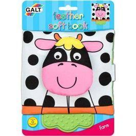 Dětská knížka s kousátkem - na farmě